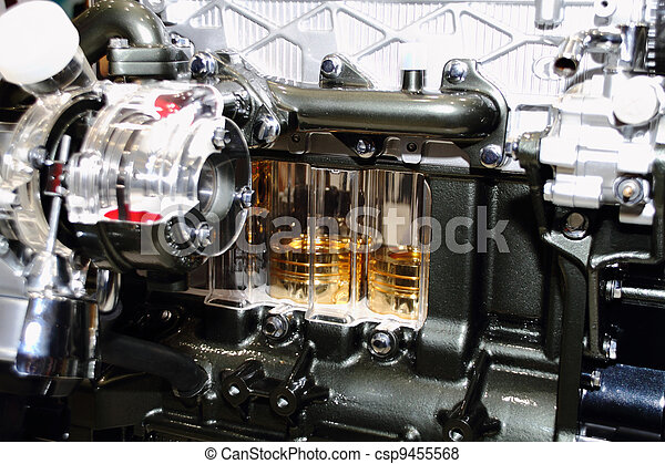 automobile engine - csp9455568