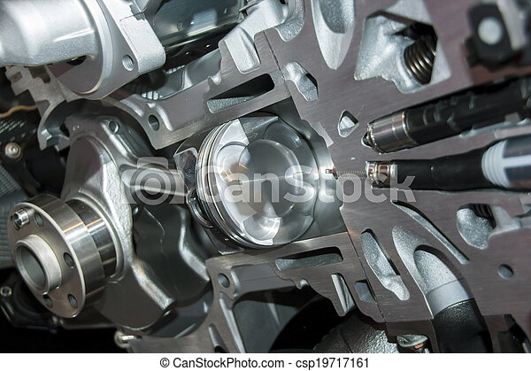 automobile engine - csp19717161