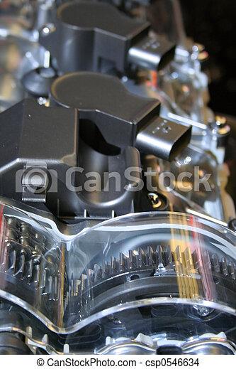 Automobile engine  - csp0546634