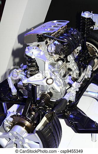 automobile engine - csp9455349