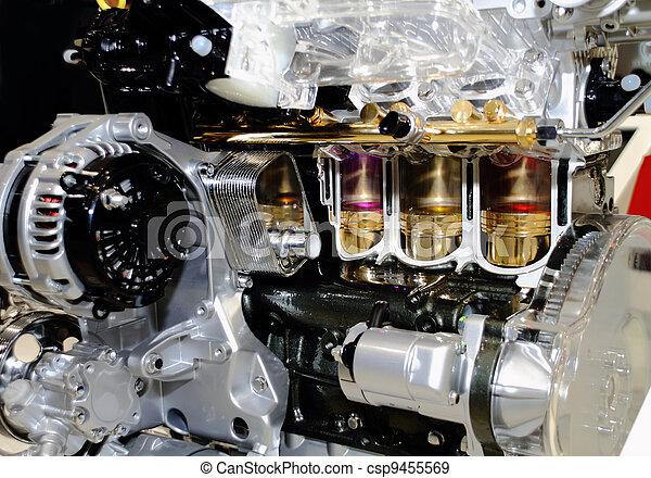 automobile engine - csp9455569