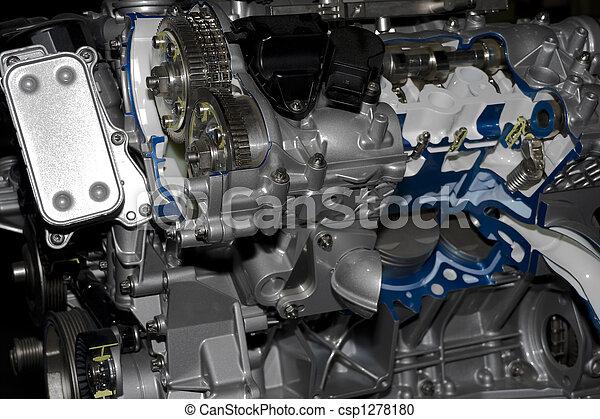 automobile engine - csp1278180