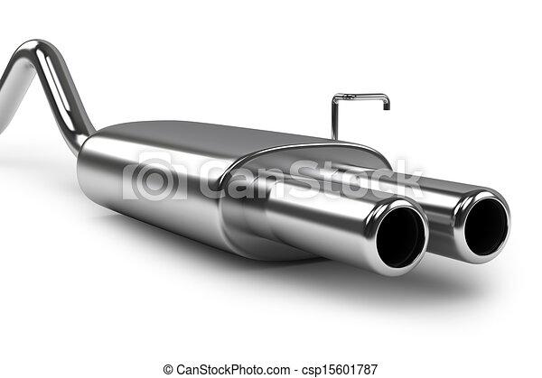 Automobile exhaust pipe - csp15601787