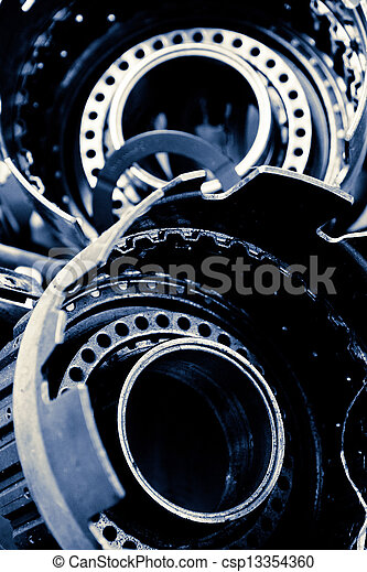 automobile gear assembly - csp13354360