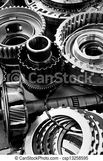 automobile gear assembly - csp13258595