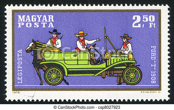 automobile, guado - csp8027923