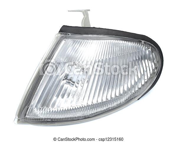 automobile headlight  - csp12315160