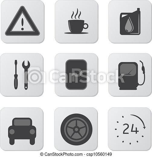 Automobile Icons - csp10560149