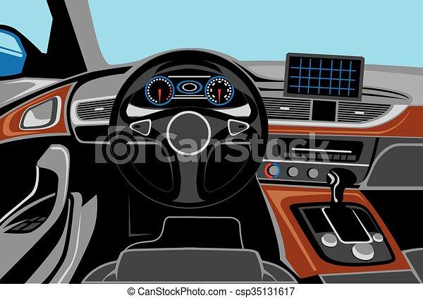 Automobile Interior - csp35131617