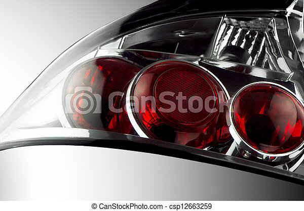 Automobile lamp  - csp12663259