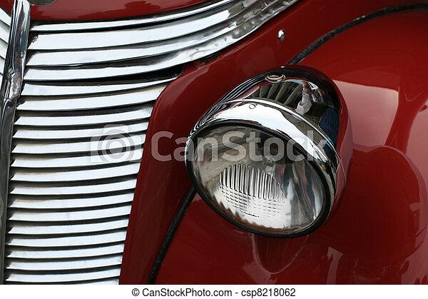 automobile, lampada - csp8218062