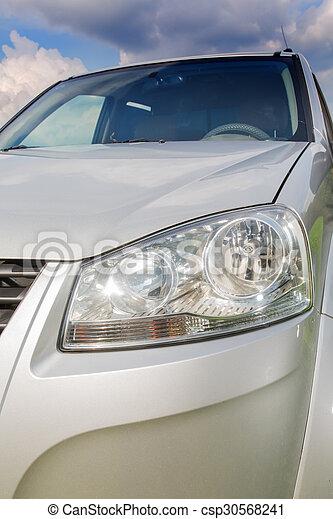 automobile, lampada, fine - csp30568241