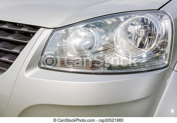 automobile, lampada, fine - csp30521980