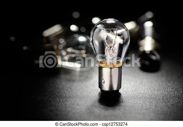 automobile, lampada - csp12753274