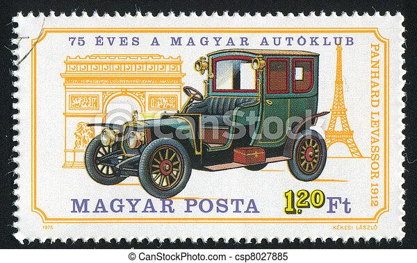 automobile, panhard, levassor - csp8027885