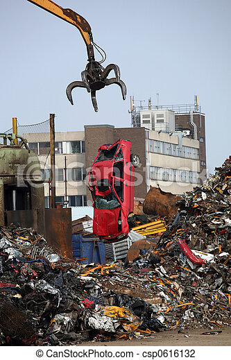 automobile, rifiuto - csp0616132