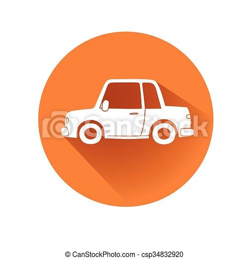 automobile, simbolo - csp34832920