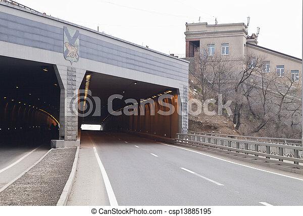 Automobile tunnel - csp13885195