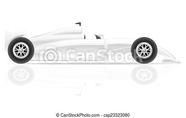 automobile, vettore, sport, illustrazione - csp23323080