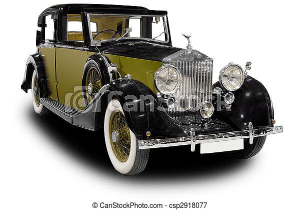 automobilen, klassisk - csp2918077
