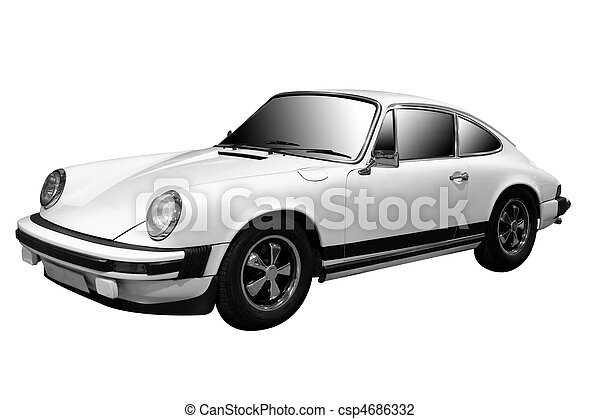 automobilen, klassisk sport - csp4686332
