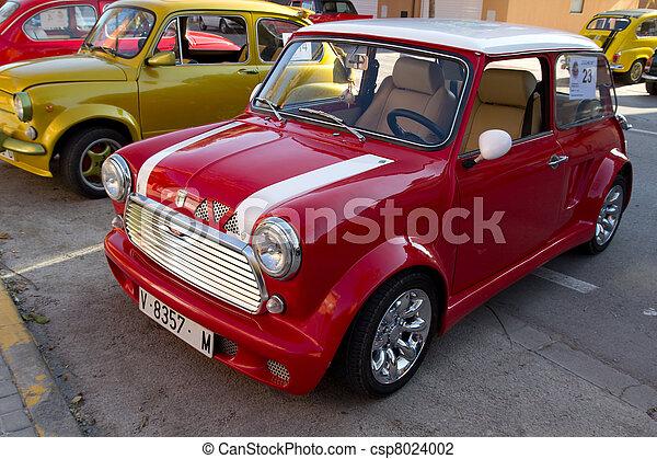 automobilen, klassisk - csp8024002
