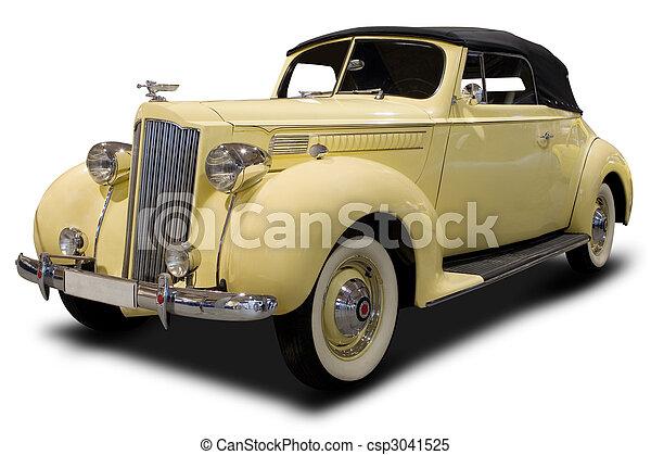 automobilen, klassisk - csp3041525