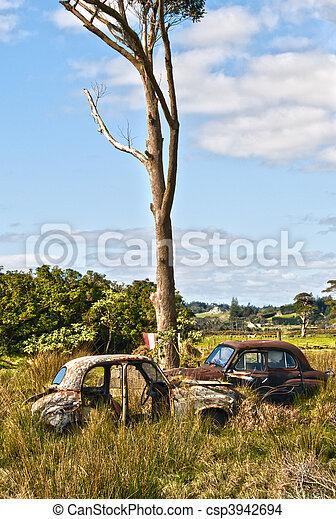 automobili, abbandonato - csp3942694