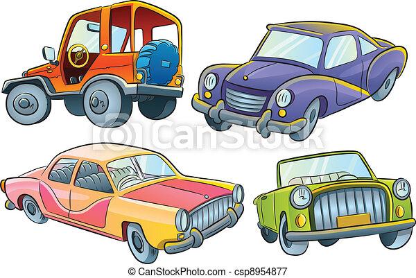 automobili, collezione - csp8954877
