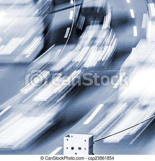 automobili, sfocato - csp23861854