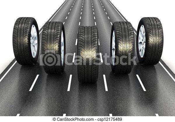 automobilistico, concetto - csp12175489