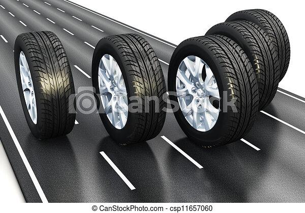 Automotive concept - csp11657060