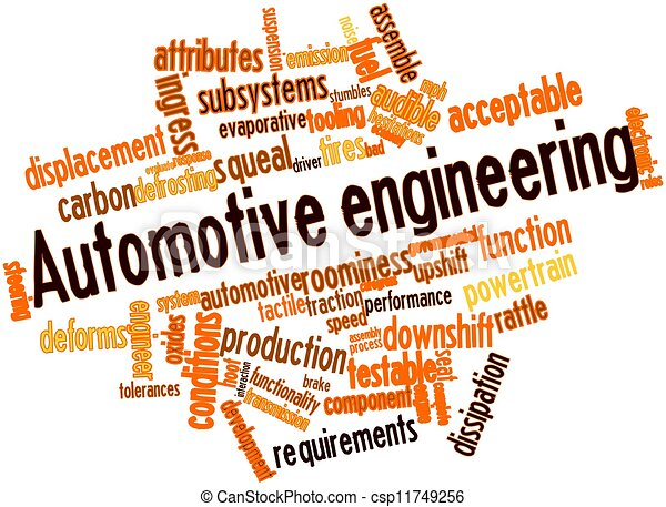 Automotive engineering - csp11749256