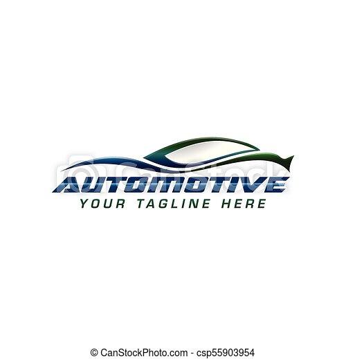 automotive Logo - csp55903954