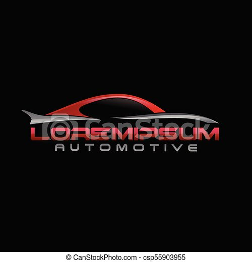 automotive Logo - csp55903955