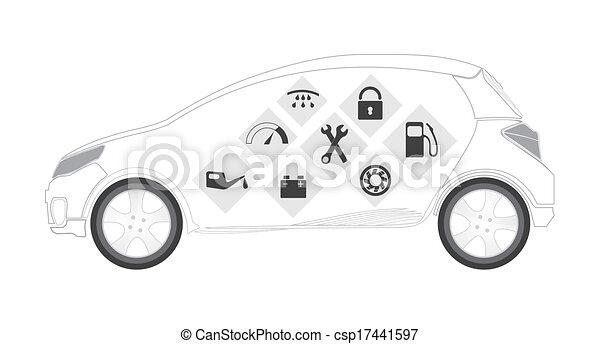 Automotive services - csp17441597