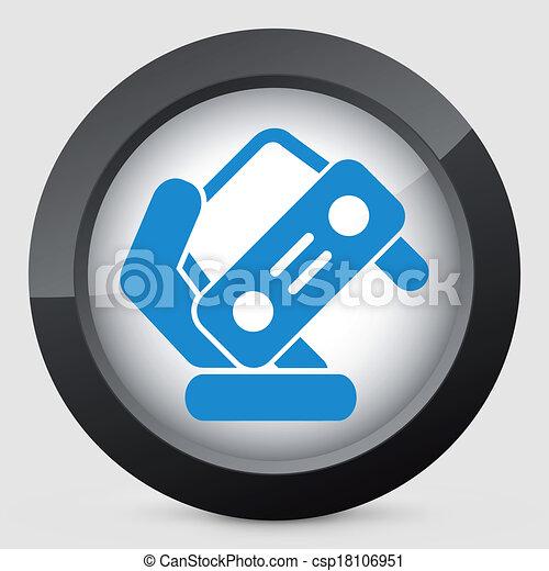 Automotive symbol - csp18106951