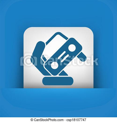 Automotive symbol - csp18107747