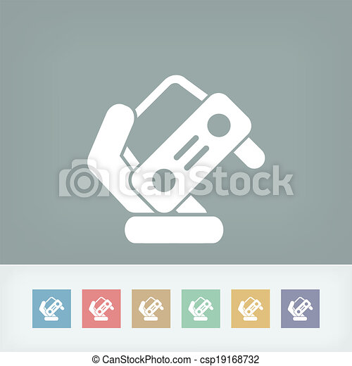 Automotive symbol - csp19168732