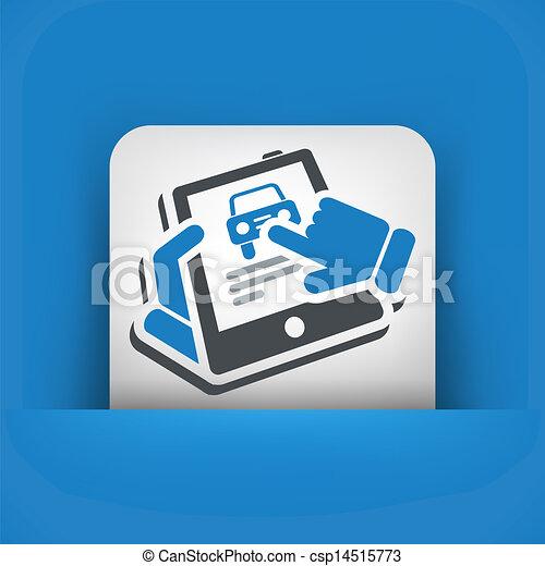 Automotive website - csp14515773