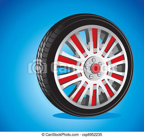 automotive wheel  - csp6952235