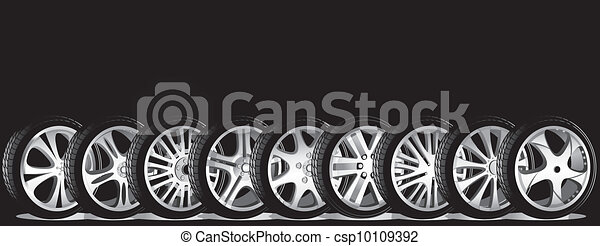 automotive wheel  - csp10109392
