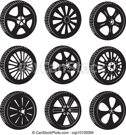 automotive wheel  - csp10109394