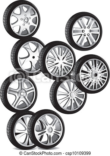 automotive wheel  - csp10109399