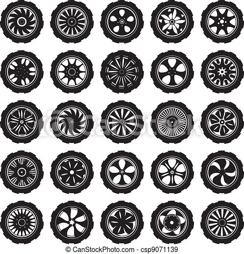 automotive wheel  - csp9071139