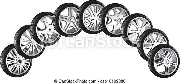 automotive wheel  - csp10109380