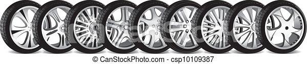 automotive wheel  - csp10109387