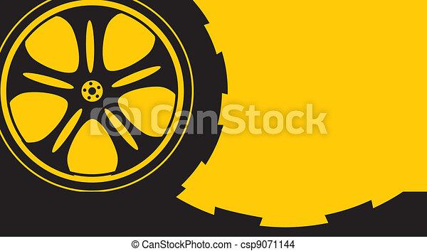 automotive wheel  - csp9071144