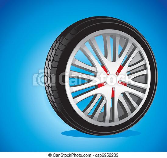automotive wheel  - csp6952233