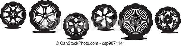 automotive wheel  - csp9071141
